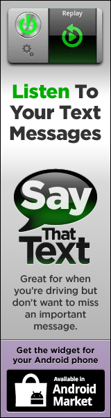 Say That Text widget for Android